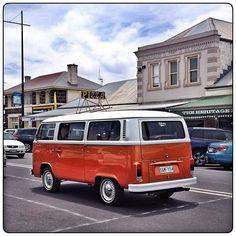 Cars I saw today... #iphone #iphone4s #glenelgshire #portfairy #vw #kombi #orangekombi by loneoranger http://ift.tt/1UokfWI