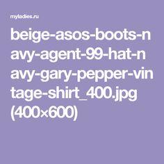 beige-asos-boots-navy-agent-99-hat-navy-gary-pepper-vintage-shirt_400.jpg (400×600)
