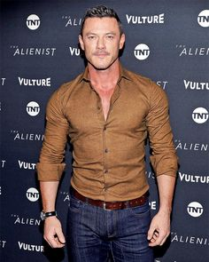 """39 Likes, 4 Comments - Sarah (@luuuuuke_evans) on Instagram: """"Luke Evans arrives at a screening of 'The Alienist' presented by Vulture + TNT during Sundance Film…"""""""