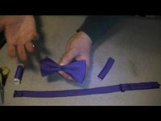 Bowtie!!!!!  http://www.thesewingguru.com This time I am running through how to construct a ready made Bow tie. The tool used for the straps can be found here: http://search.nancysnotions.com/?q=point+turner_cs=UTF-8=30=6  The measurements are: Bow part 11.5cm by 24cm, Small bow strap 8...