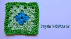 How To Crochet a Granny Square - Beginners Tutorial & Basic Pattern-best tutorial that I have seen so far!