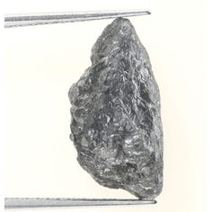 5.99 Ct Natural Loose Diamond Raw Rough Silver Gray Color Irregular Shape
