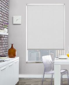 Solar Shades | In Over 80 Materials | The Shade Store. Inside-mounted pull-down shades (for underneath) Lots of options; they all look similar to the picture;
