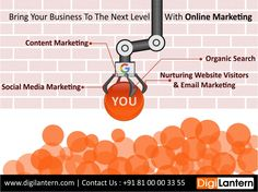 Increase online business with #DigiLantern. Get the best #DigitalMarketing services to increase your sales and revenue with online market. Right Marketing, Right Traffic, Right Audience.