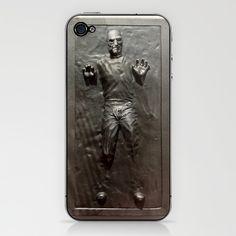 Steve Jobs in carbonite iphone case - $15.00