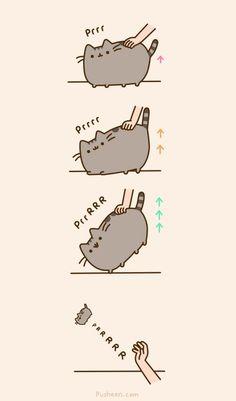 Pusheen cat omg :))))