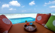 With your own villa and the privacy of a personal swimming pool, bathe in the luxury and tranquillity of your spacious surroundings. The Maldives have so much to offer - relax on the most !