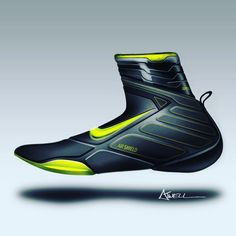 Nike surf bootie concept. Had a blast repurposing Nike Air, to be used as…