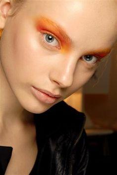 ...orange eyes