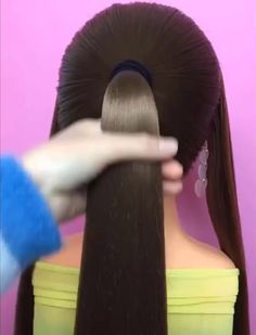 Stylish and easy braided hairstyle tutorials for long hair… The most beautiful hair ideas, the most Box Braids Hairstyles, Easy Braided Hairstyles For Long, Try On Hairstyles, Braided Hairstyles Tutorials, Braids For Long Hair, Trending Hairstyles, Hairstyles Videos, Pretty Hairstyles, Perfect Hairstyle