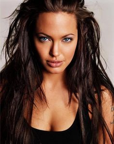Angelina Jolie.. she is so much prettier like this rather than skinny and pasty white!