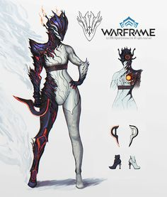 Warframe - Ember Deluxe Skin, Francois Cannels on ArtStation at https://www.artstation.com/artwork/ZzRXw