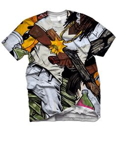 glo gang shirts by Chief Keef
