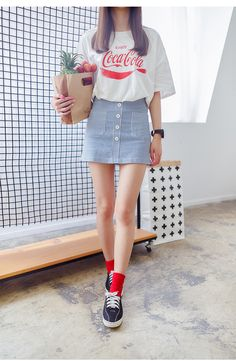 Korean fashion A skirt