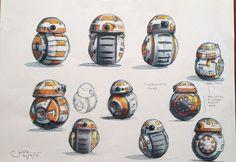 concept art for bb8 - Google Search