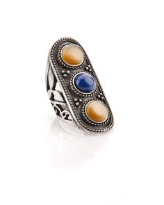 Jewelmint Tiger Cabochon Ring