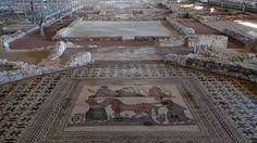 Doce villas romanas para conocer mejor Hispania- Almenara-Puras (Almenara de Adaja / Puras, Valladolid)