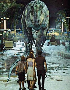 "RUN Jurassic World........ ""That's how it always starts. Then later there's running and screaming."""
