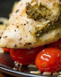 One-Pan Pesto Chicken & Veggies