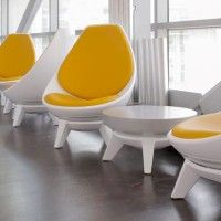 Sway Lounge Seating : Products : KI Retro Chairs, Lounge Seating, Ottoman, Table, Furniture, Products, Home Decor, Couches, Interior Design