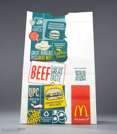 麥當勞全新包裝設計欣賞>>禮品包裝>>頂尖創意>>頂尖設計