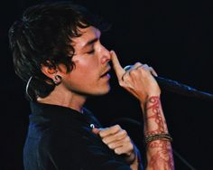 Brandon Boyd- when he sings... aww