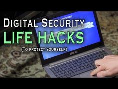 As part of National Cyber Security Awareness Month, Household Hacker shares some simple digital security life hacks for keeping your information safe Home Security Tips, Wireless Home Security Systems, Online Security, Cyber Security Awareness Month, Life Hacks Youtube, Computer Coding, Computer Tips, Fire Cover, Home Guard