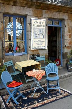 Bécherel, city of books in Brittany, France.