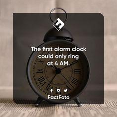 #factfoto #fact #facts #alarmclock #4am
