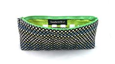 NEW Large Lime Green and Black Essential Oils Travel by SewNowWat, $25.99