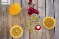 Grundrezept - Zitronensirup