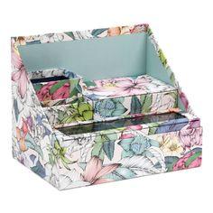 Botanical Floral desk filing set