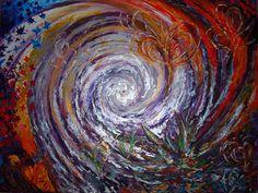 Ajna - Acrílico sobre tabla - 105 x 80 cm - Amgros Arte - Colección inspiracional