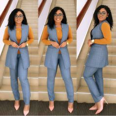 Beautiful business casual attire for the ladies - corporate attire women Business Casual Attire, Professional Attire, Business Dresses, Business Professional, Business Attire Female, Corporate Attire Women, Corporate Wear, Business Formal, Classy Work Outfits