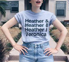 Heather Heather Heather Veronica Tee (Heathers Movie)