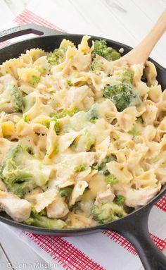 Chicken, Broccoli, and Pasta Skillet Casserole Recipe