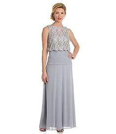 3deba31c6ce Ignite Evenings Lace Blouson Dress  Dillards. Peggy Schlotterer · Wedding