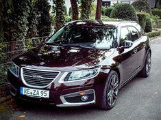 Bara namnet på bilen är imponerande: Saab 9-5NG SportCombi Aero Turbo 6 XWD.