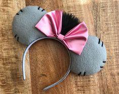 Eeyore Inspired Mickey Minnie Mouse Ears Head Band Headband Winnie the Pooh Tigger Piglet Heffalump Donkey eeyore