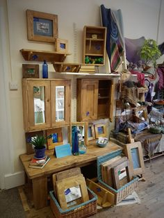 Somerset, Ilminster designers set up shop, handmade furniture & Handmade Furniture, Wooden Furniture, Handmade Wooden, Handmade Art, Rustic Style, Modern Rustic, Wood Joinery, Craft Items, Somerset