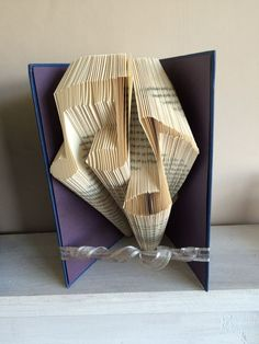 Musical Notes Book Folding Pattern by ThePageTurnerCompany on Etsy