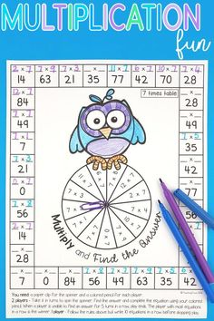 Teaching multiplication to your grade students can be fun. Use anchor chars and flip books to introduce each multiplication strategy and then hands-on games, activities and printables to help them remember their times tables. Literacy Games, Math Games, Preschool Activities, Multiplication Strategies, Teaching Multiplication, Teaching Math, Math Stations, Math Centers, Third Grade Math