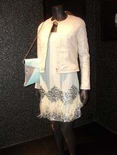 blusão hoss, vestido TMX, clutch hoss | D'Maglia