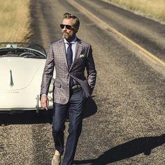 J.Hilburn Style Journal #Blazer #Plaid #Cuadros #Estampado