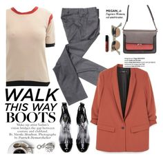"""""""Walk this way"""" by punnky ❤ liked on Polyvore featuring Marni, Comme des Garçons, MANGO, Libertine and Banana Republic"""