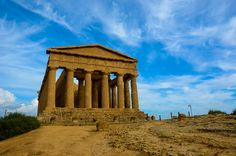 The Temple of Concordia in Agrigento, Sicily was a futile hope, as Sicily has been the site of several territorial disputes: Greeks, Carthiginians, Romans, etc. have all fought for the strategic Mediterranean port.