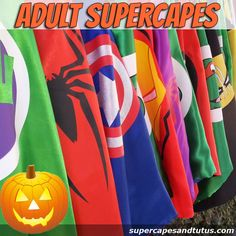 IN STOCK READY TO SHIP IN 1-2 DAYS!!!!! Let the Imaginations Begin This listing is for 1 Adult Superhero Cape Great for Halloween or any party. Made with high quality satin, this is a double sided, vi