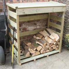 Timber Log Store on sale | free uk delivery | greenfingers.com