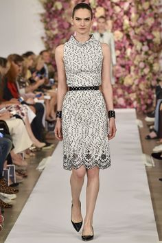 Oscar de la Renta 10. September 2014 NEW YORK, FRÜHJAHR 2015