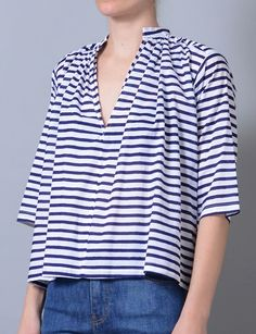 agata arita stripe top: